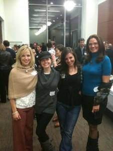 Pictured here are some of the Science Online 2010 speakers: Darlene Cavalier, Dr. Kiki Sanford, Rebecca Skloot, and Joanne Manaster.