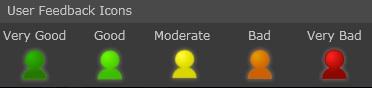 User Feedback Icons
