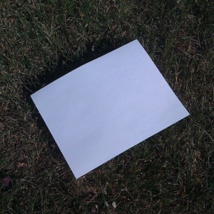 Turn a piece of paper into scientific data!