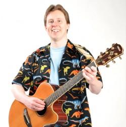 Monty Harper - Born to Do Science (Photo: Tony Thompson)