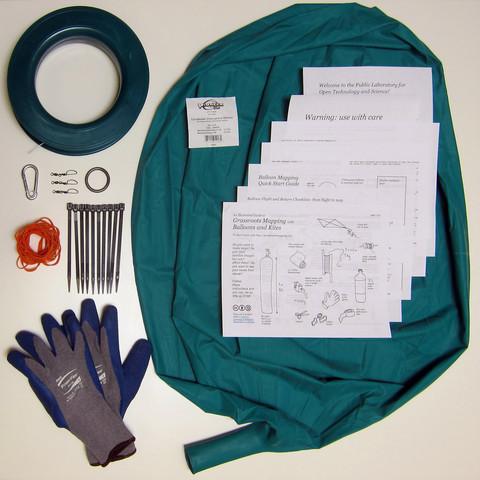 Balloon-mapping kit