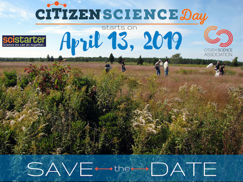 This logo is for Citizen Science Day