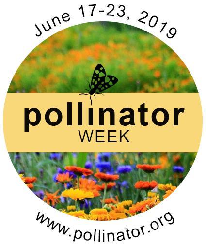 Pollinator Week Logo June 17-23 2019