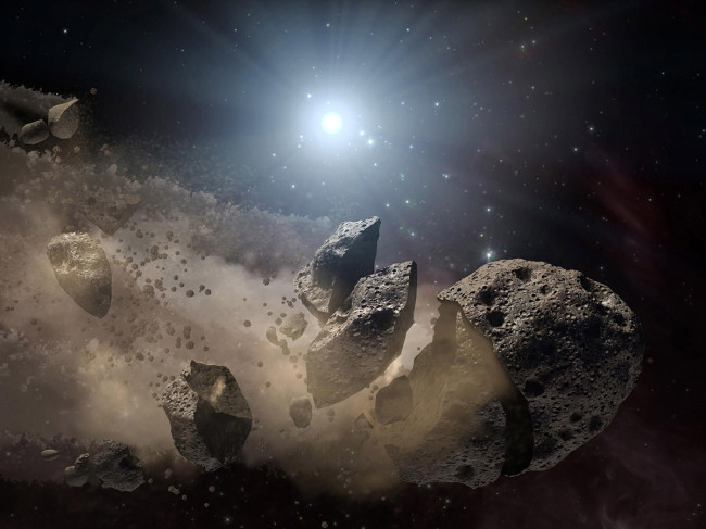 hunt for asteroids citizen science