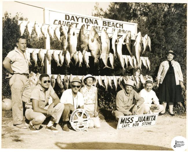 daytona beach old sport fishing photo 1960s
